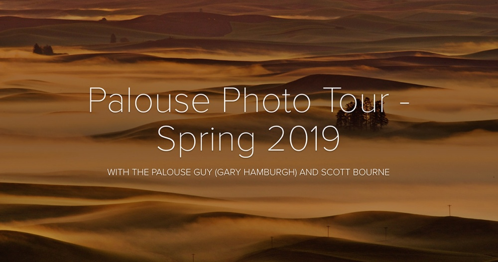 Palouse Photo Tour With Scott Bourne & Gary Hamburgh